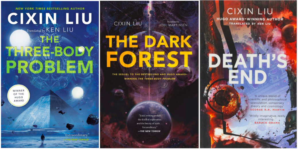 The Three-Body Problem Trilogy. Title: Remembrance of Earth's Past… | by  Céline Heckel-Jones | Medium