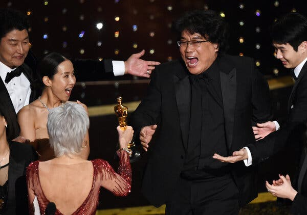 """Bong Joon Ho winning best picture for """"Parasite"""" last year. The victory should be treated as a harbinger."""