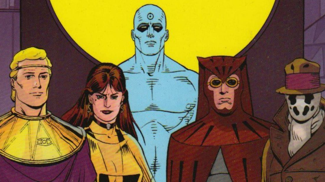 Image result for watchmen comic
