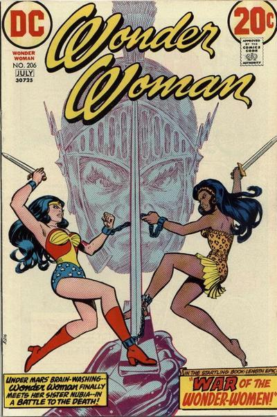 GK's Where Are They Now?: Nubia, Wonder Woman's Black Twin Sister – BIG  COMIC PAGE