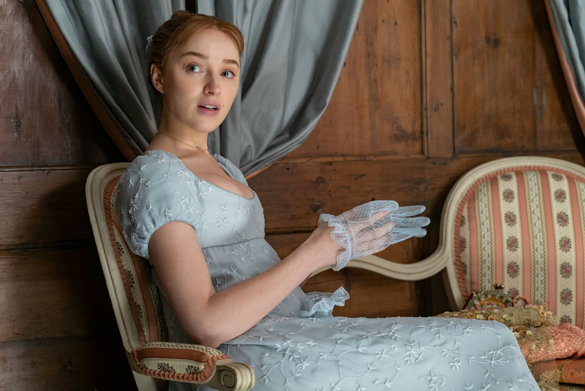Leading actress Phoebe Dynevor is said to be devastated by the discovery.