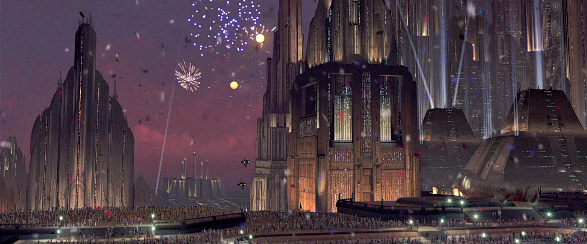 Image result for return of the jedi coruscant