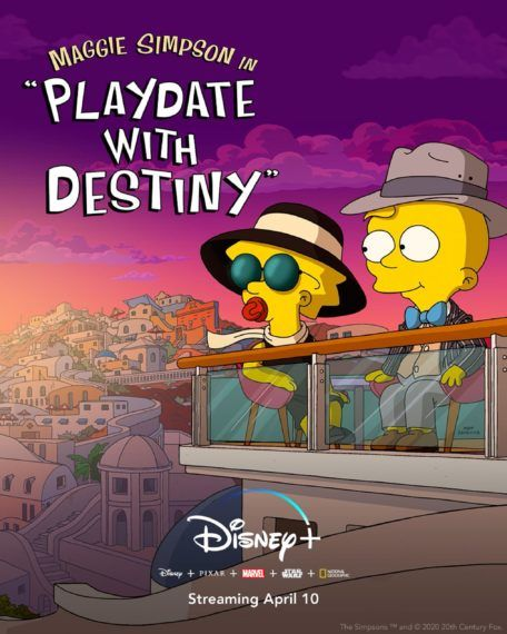 The Simpsons Playdate with Destiny