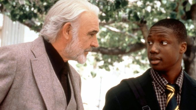 FINDING FORRESTER, from left: Sean Connery,