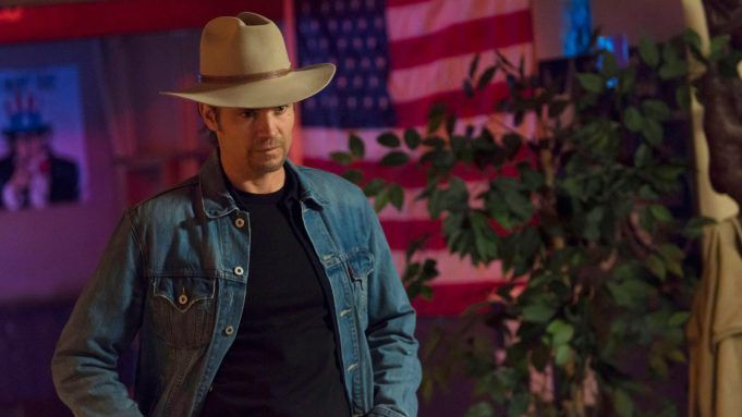 JUSTIFIED, Timothy Olyphant, in 'Ghosts' (Season