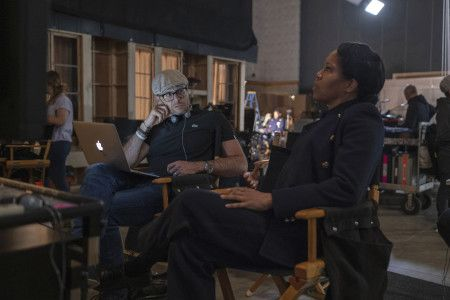 Damon Lindelof and Regina King.