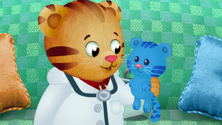 """""""Daniel Tiger's Neighborhood"""" is one of the children's programs addressing the pandemic."""