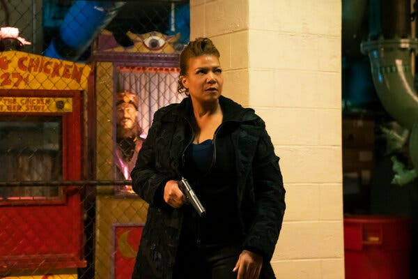 """Queen Latifah stars as a crusading former C.I.A. agent in a new version of """"The Equalizer."""""""