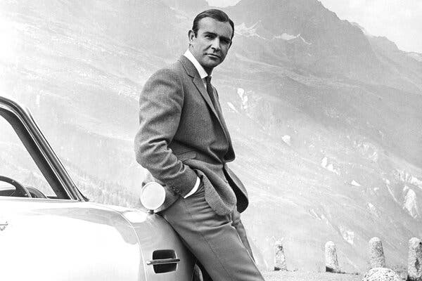 """The actor In """"Goldfinger,"""" where he and the Bond persona finally melded."""