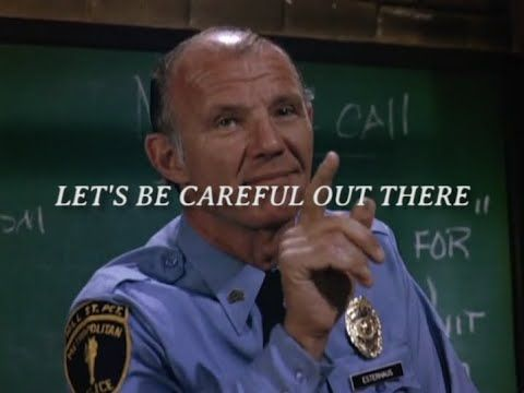 Let's Be Careful Out There | 'Hill Street Blues' Supercut - YouTube