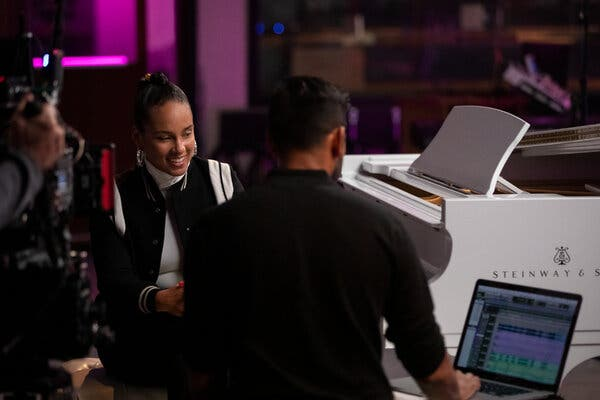 """On the new Netflix show """"Song Exploder,"""" based on the podcast of the same name, Hirway uses a mix of interviews and behind-the-scenes footage to track the creative process of artists including Alicia Keys."""