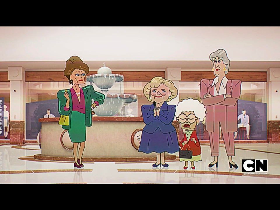 r/gumball - CN shows have been doing Golden Girls a lot lately