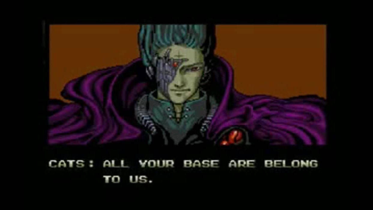 Image result for all your base are belong to us gif