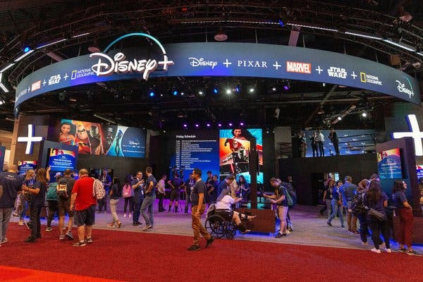 """A Disney executive said the marketing for Disney Plus was """"a synergy campaign of a magnitude that is unprecedented in the history of the Walt Disney Company."""""""
